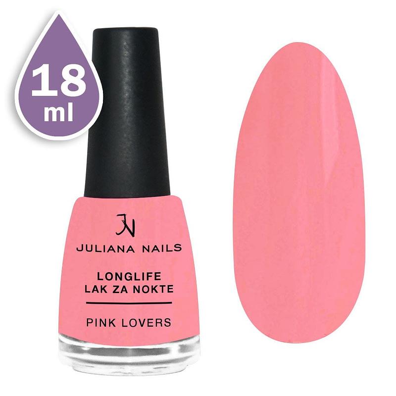 Longlife lak za nokte 18ml - pink lovers