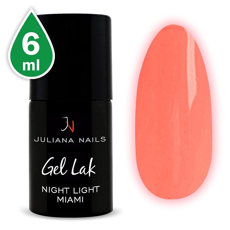 Gel lak (trajni lak) Night Light Miami 6ml - Juliana Nails