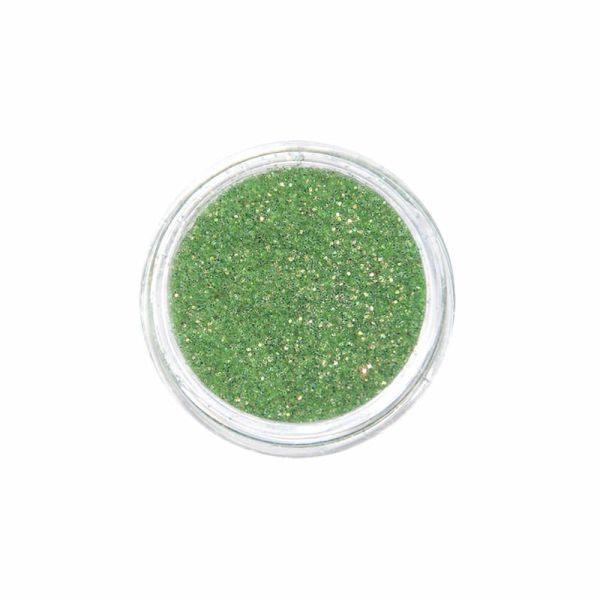 Juliana Nails Nail Art Glitter Mega Shine Fine zeleni višebojni