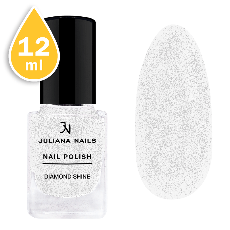 Svjetlucavi lak za nokte Juliana Nails 12ml - diamond shine
