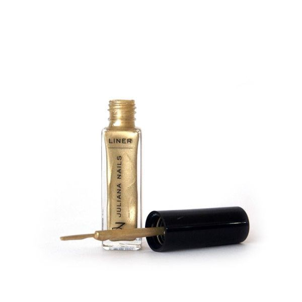 Liner Juliana Nails 10ml metal zlatni