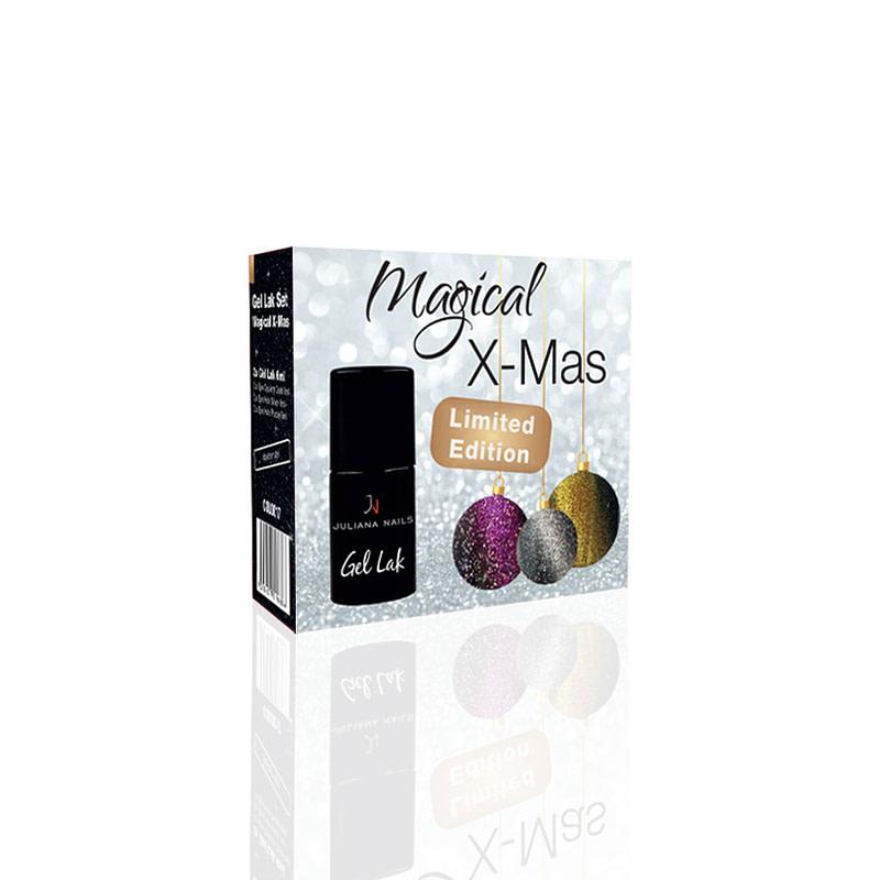 Gel lak (trajni lak) Set Magical X-Mas - Limited Edition - Juliana Nails