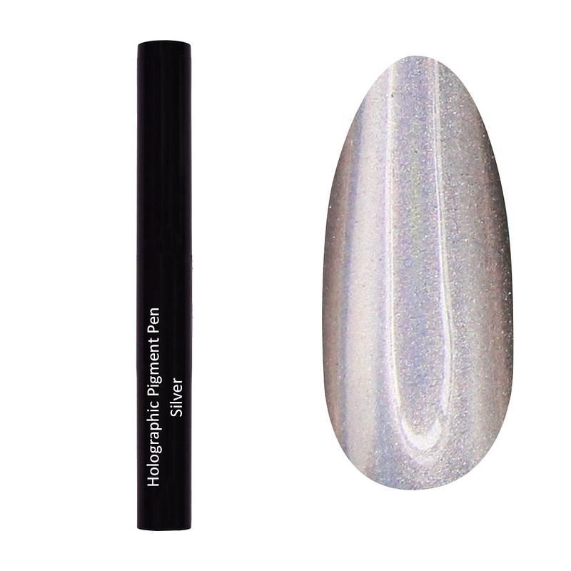 Olovka s holo pigmentom - Silver