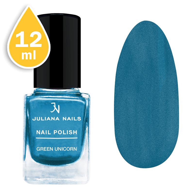 Lak za nokte Juliana Nails 12ml - green unicorn