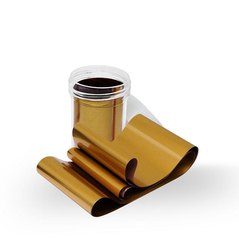 Nail art folija Golden Glow