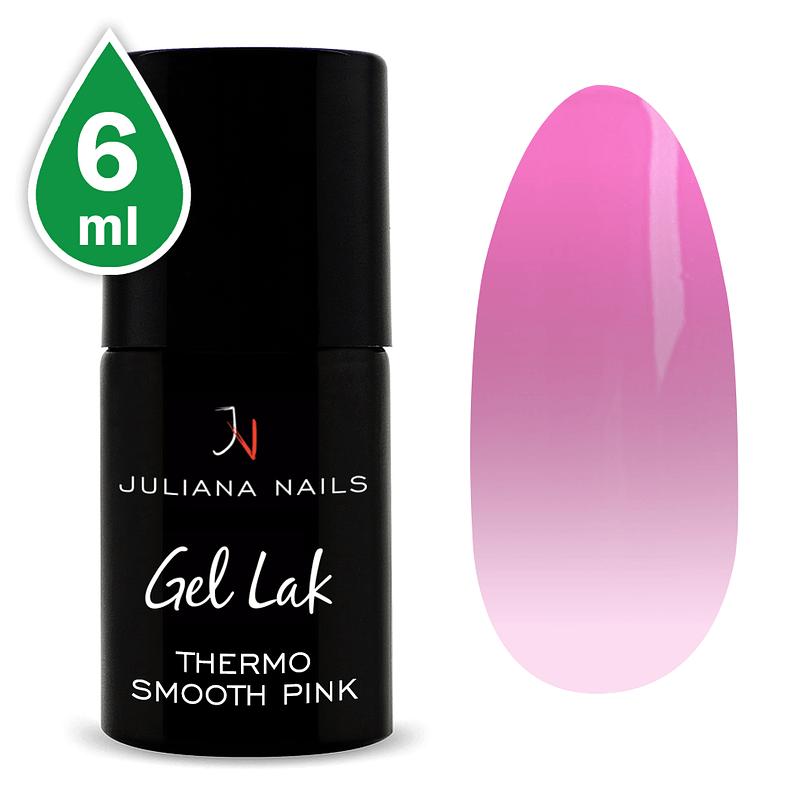 Gel lak (trajni lak) Termo Smooth Pink 6ml
