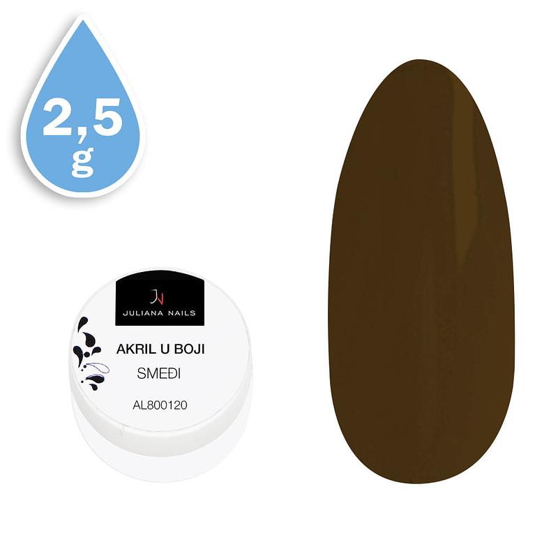 Akril u boji smeđi 2,5g