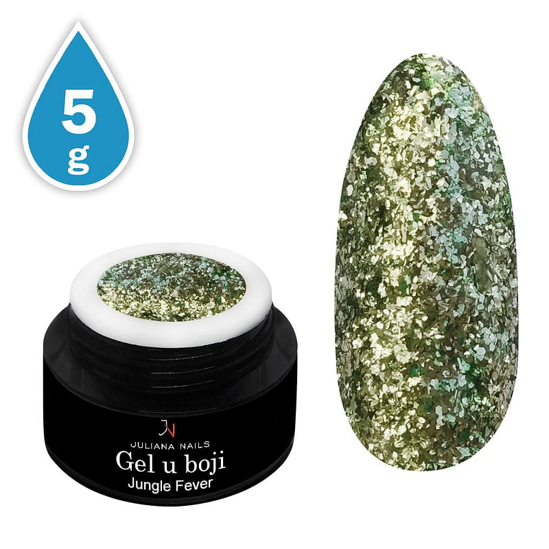 Gel u boji Glam Glitter Jungle Fever 5g