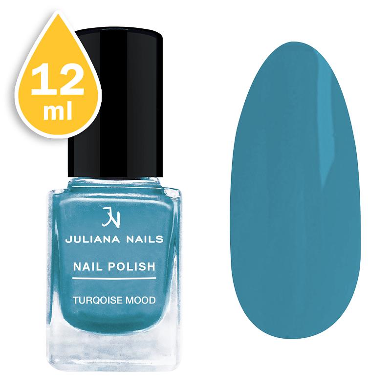 Lak za nokte Juliana Nails 12ml – turqoise mood