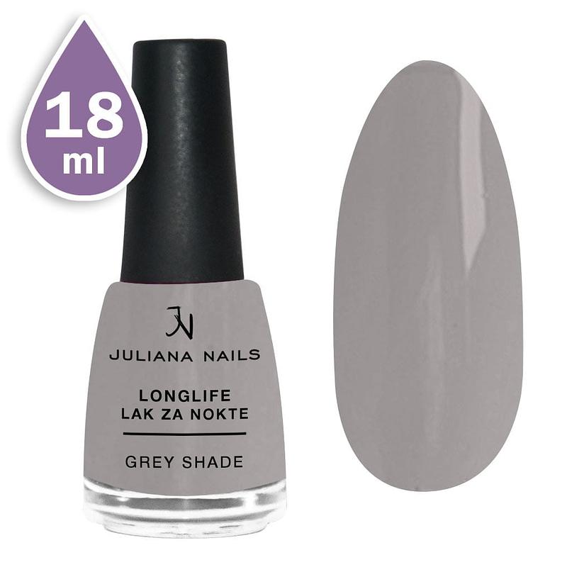 Longlife lak za nokte 18ml - grey shade