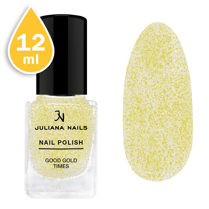 Svjetlucavi lak za nokte Juliana Nails 12ml – good gold times