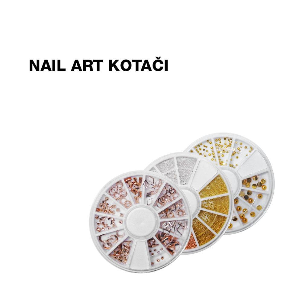 Nail art kotači