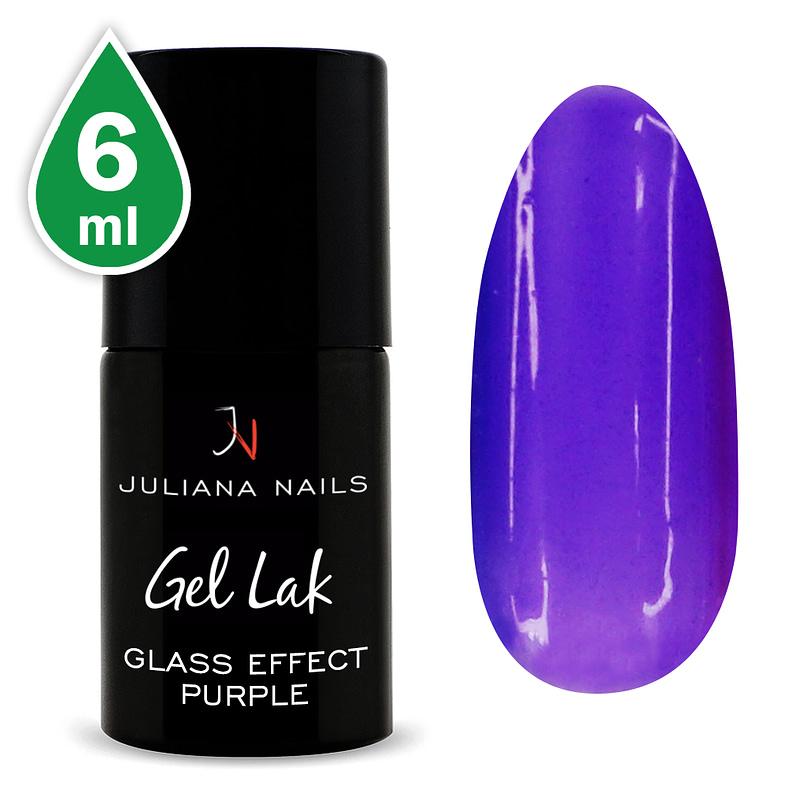 Gel lak Glass Effect Purple 15ml