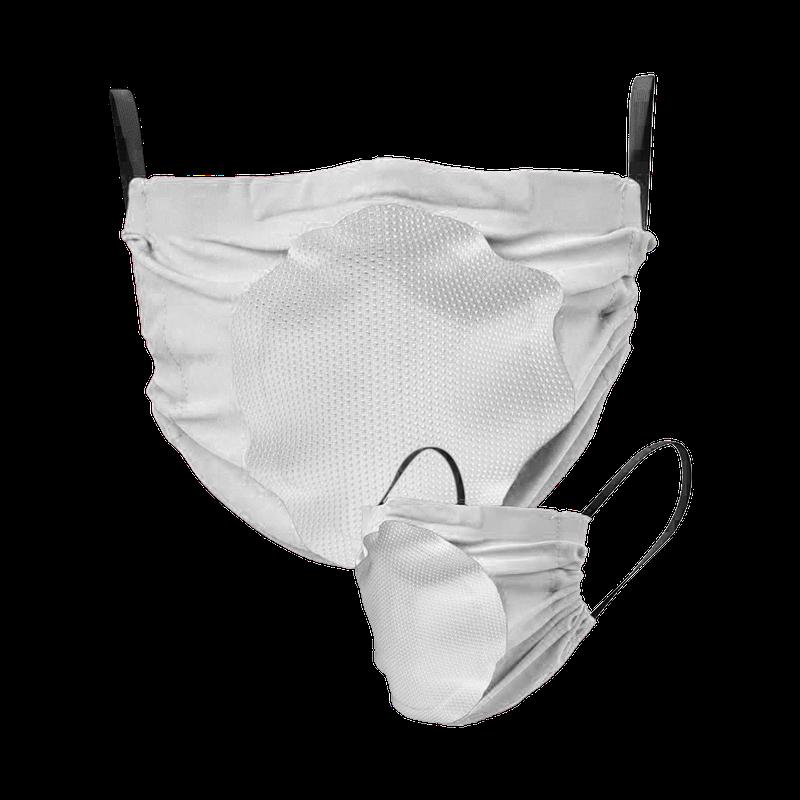 Maska za lice s filterom (bijela s bijelim filterom)