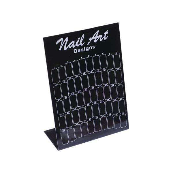 Nail art stalak crni