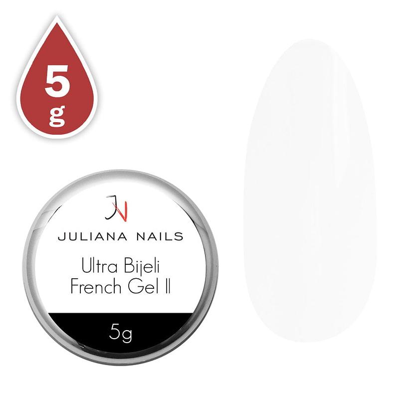 Ultra bijeli french gel II 5g