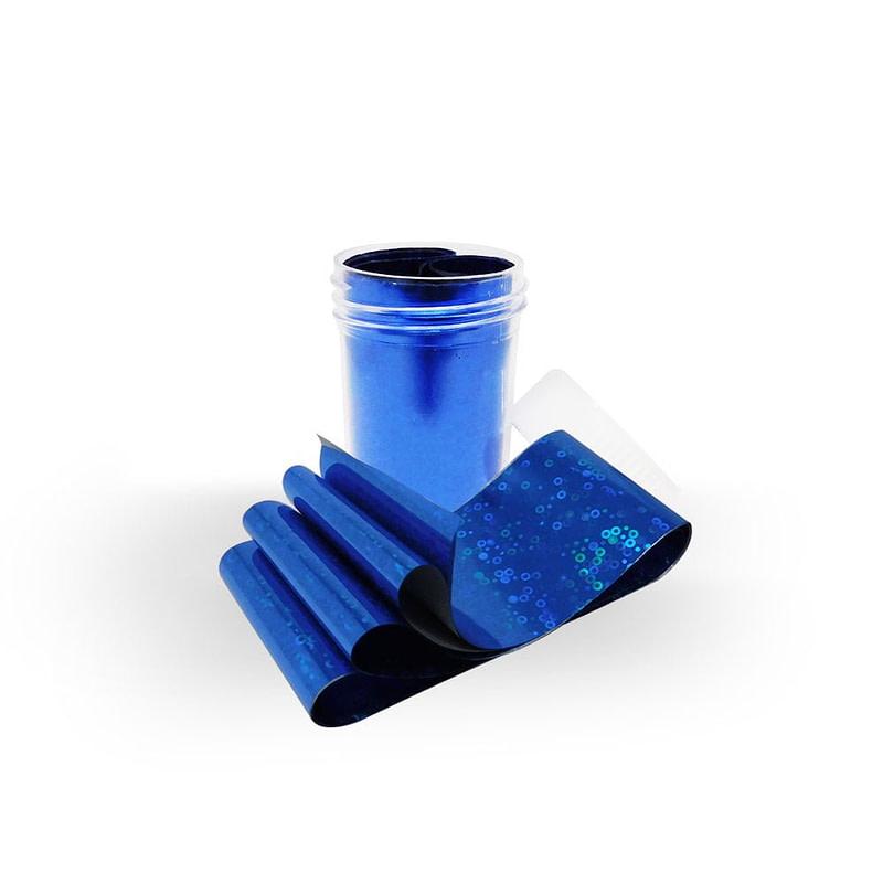 Nail art folija Blue Spins