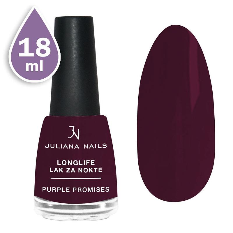 Longlife lak za nokte 18ml - purple promises