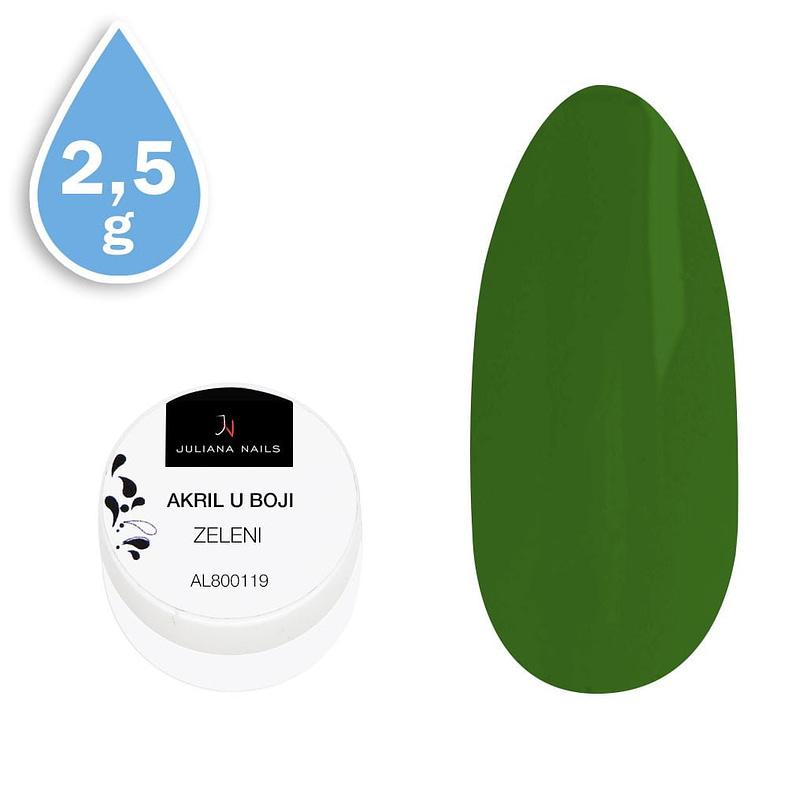 Akril u boji zeleni 2,5g