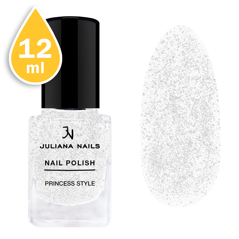 Svjetlucavi lak za nokte Juliana Nails 12ml - princess style