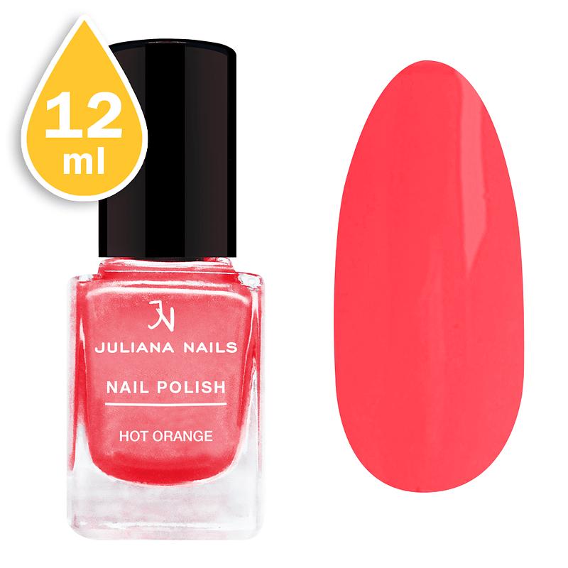 Lak za nokte Juliana Nails 12ml - hot orange