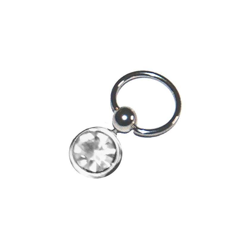 Piercing za nokte s ukrasnim kamenčićima