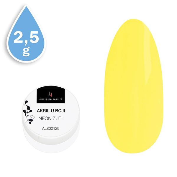 Akril u boji neon žuti 2,5g