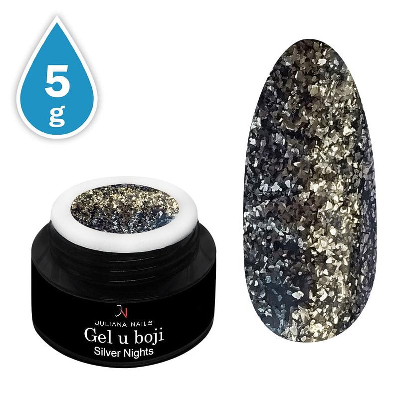 Gel u boji Glam Glitter Silver Nights 5g