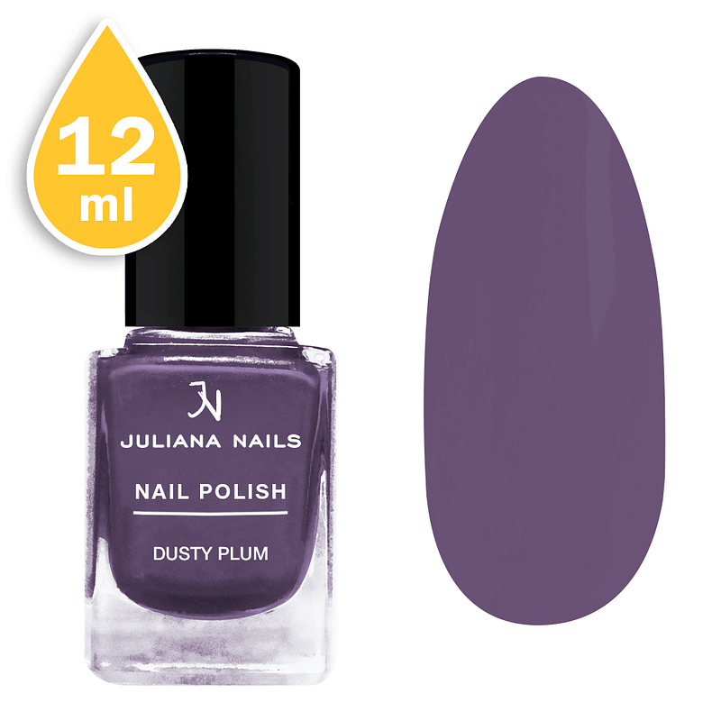 Lak za nokte Juliana Nails 12ml - dusty plum