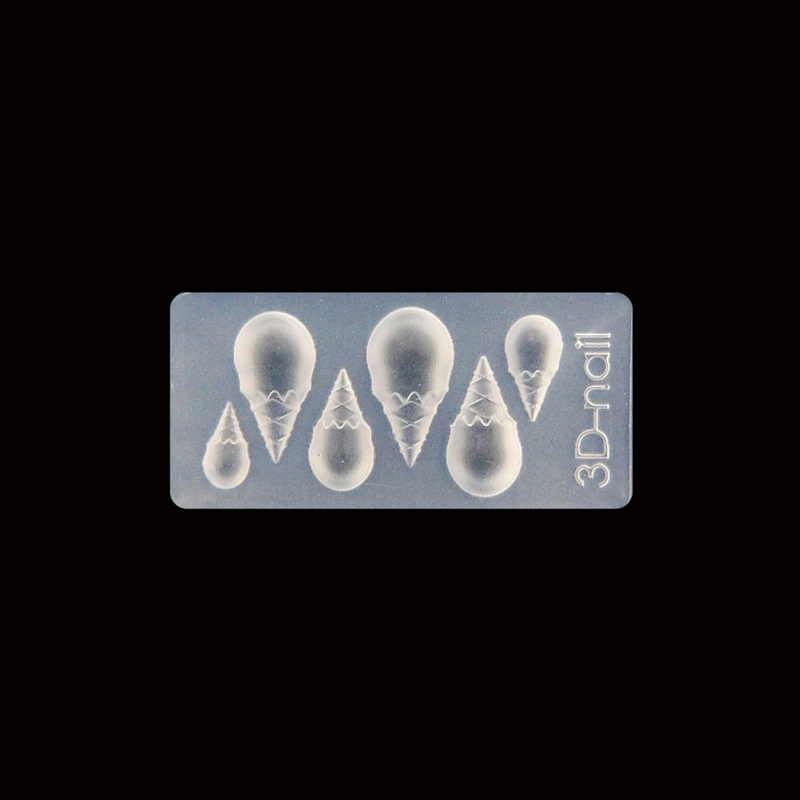 3D silikonski kalup – kornet