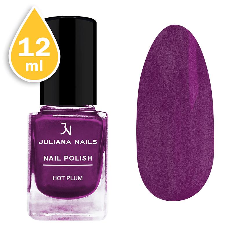 Lak za nokte Juliana Nails 12ml - hot plum
