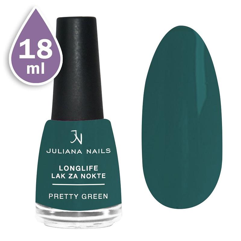 Longlife lak za nokte 18ml - pretty green