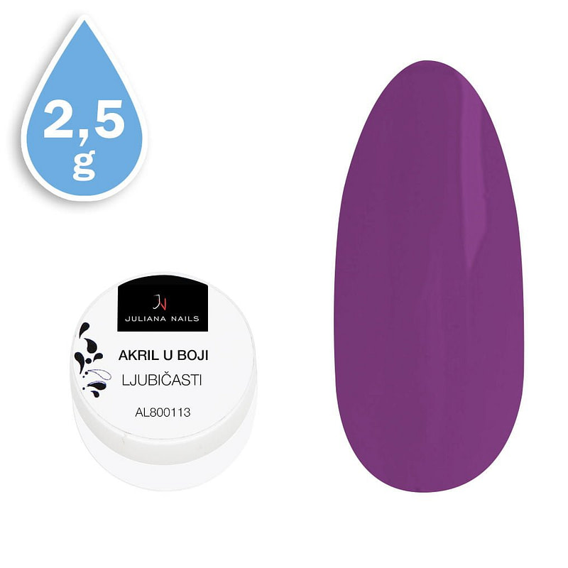 Akril u boji ljubičasti 2,5g