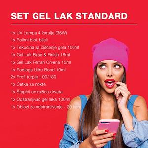 Set Gel Lak Standard