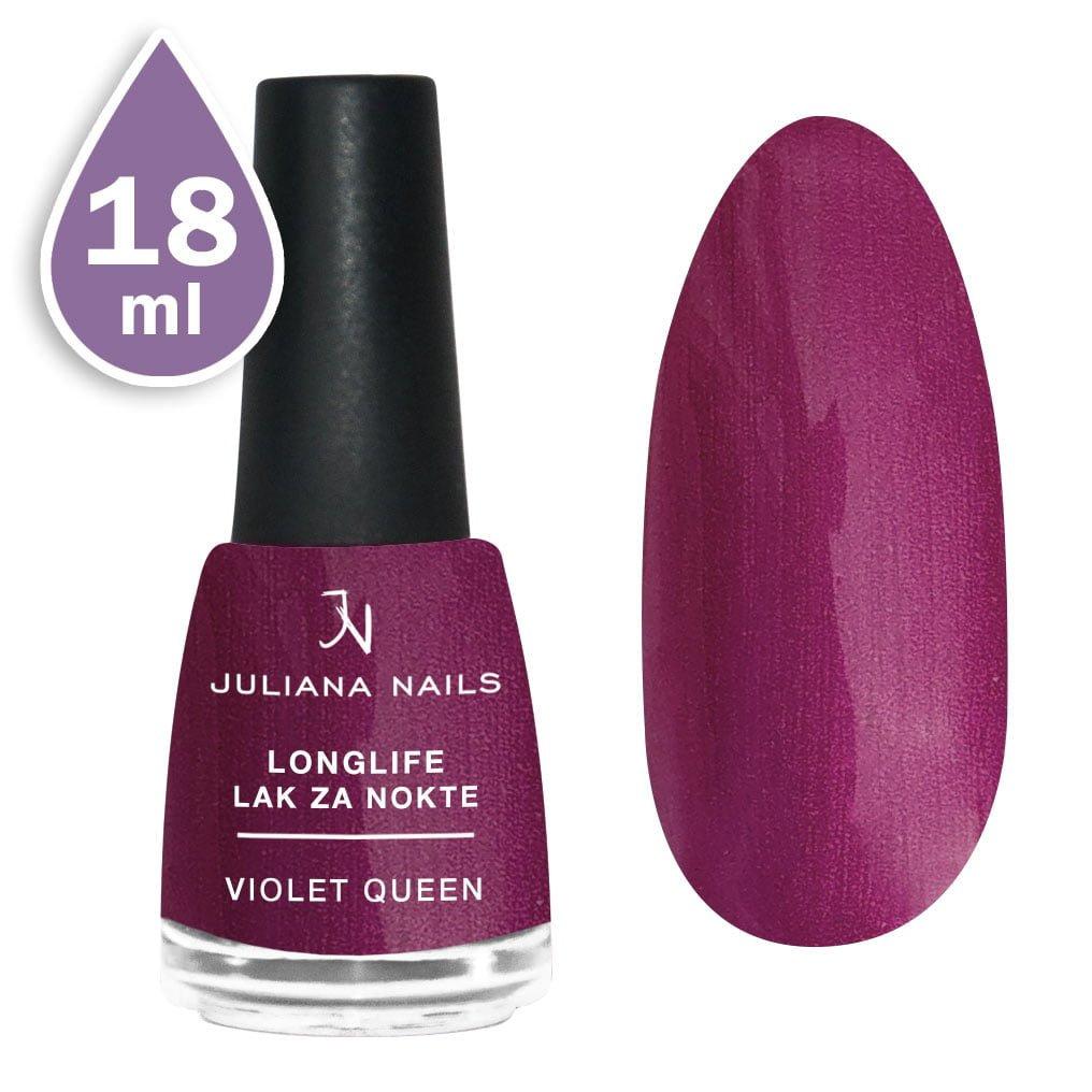Longlife lak za nokte 18ml - violet queen