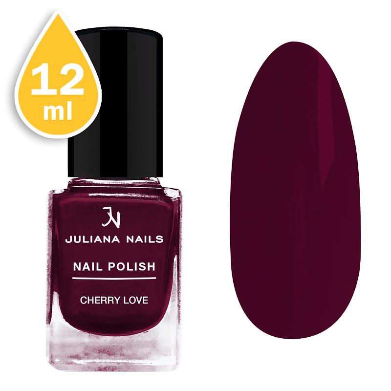 Lak za nokte Juliana Nails 12ml - cherry love