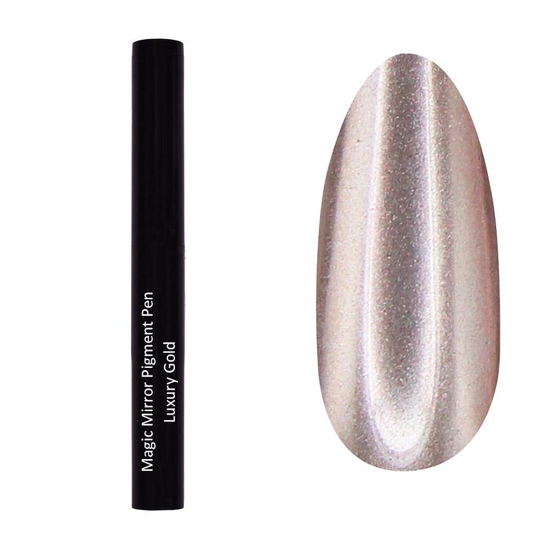 Magic Mirror olovka s pigmentom - Luxury Gold - Juliana Nails