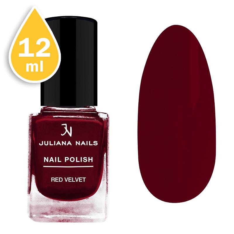 Lak za nokte Juliana Nails 12ml - red velvet