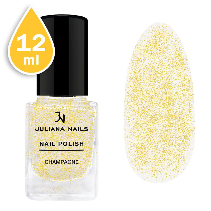 Svjetlucavi lak za nokte Juliana Nails 12ml - champagne