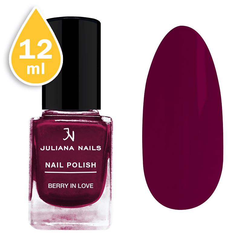 Lak za nokte Juliana Nails 12ml – berry in love