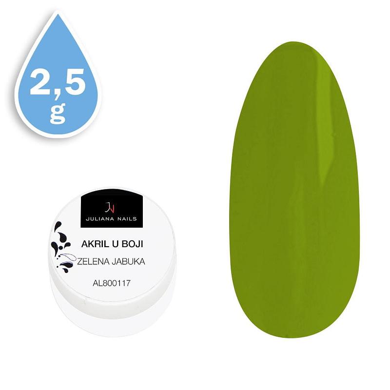 Akril u boji zelena jabuka 2,5g