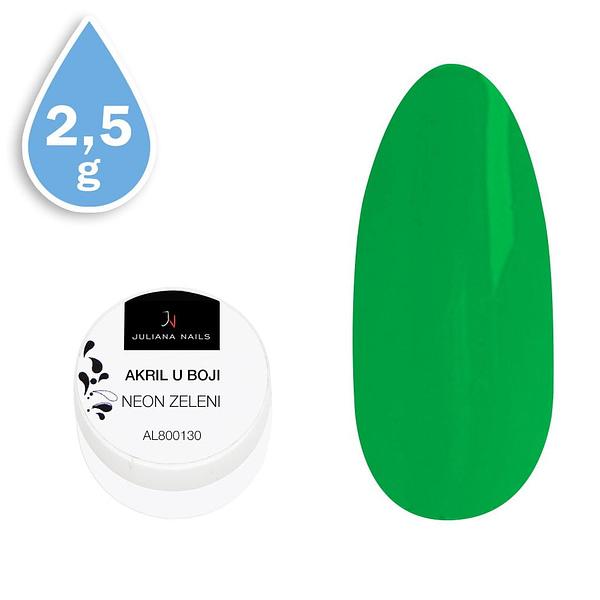 Akril u boji neon zeleni 2,5g