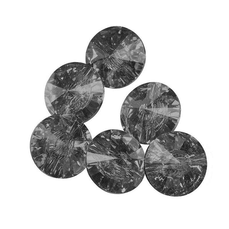 Ukrasni kamenčići Swarovski Black Diamond ca. 50 kom. (SS12)