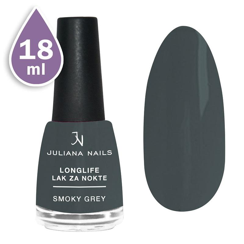 Longlife lak za nokte 18ml - smoky grey