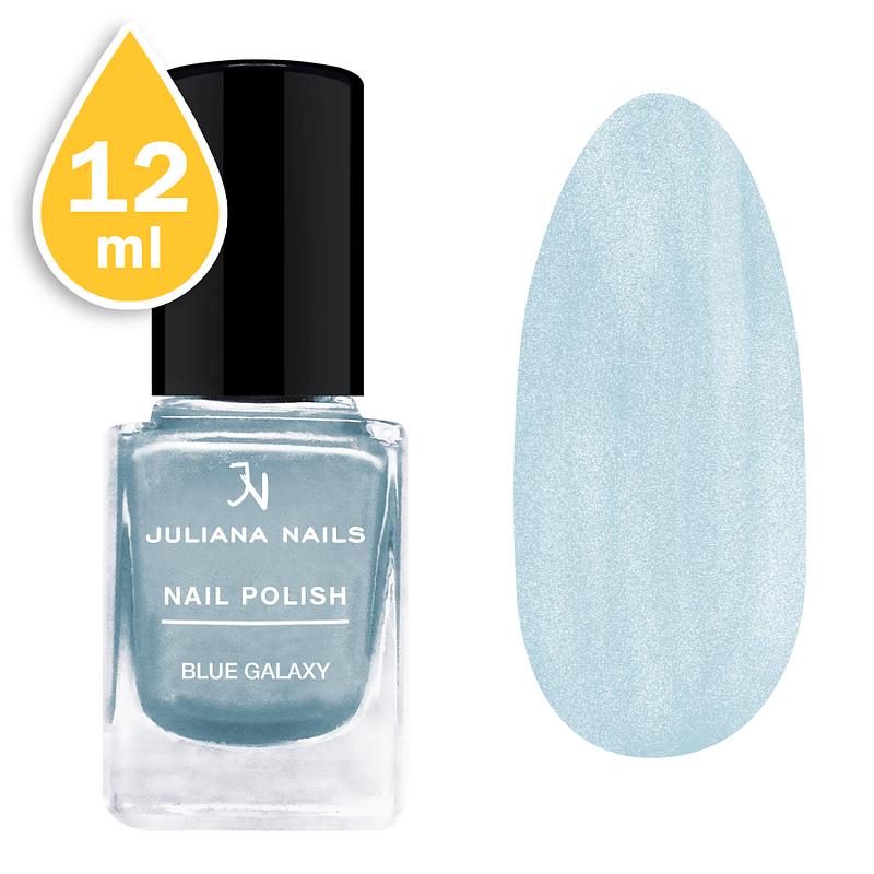 Lak za nokte chrome Juliana Nails 12ml - blue galaxy