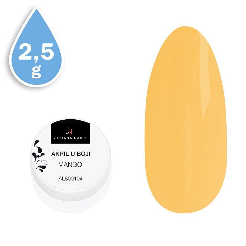 Akril u boji mango 2,5g