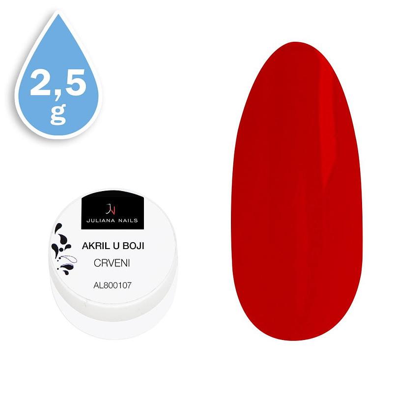 Akril u boji crveni 2,5g