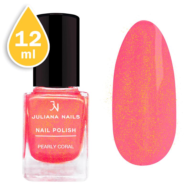 Lak za nokte Juliana Nails 12ml – pearly coral