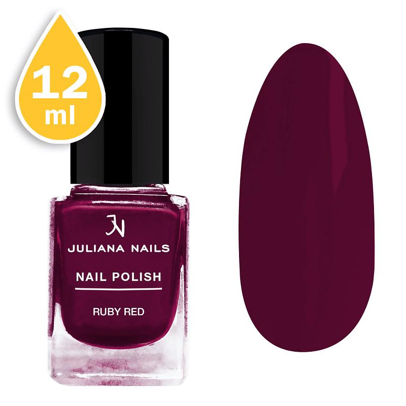 Lak za nokte Juliana Nails 12ml - ruby red