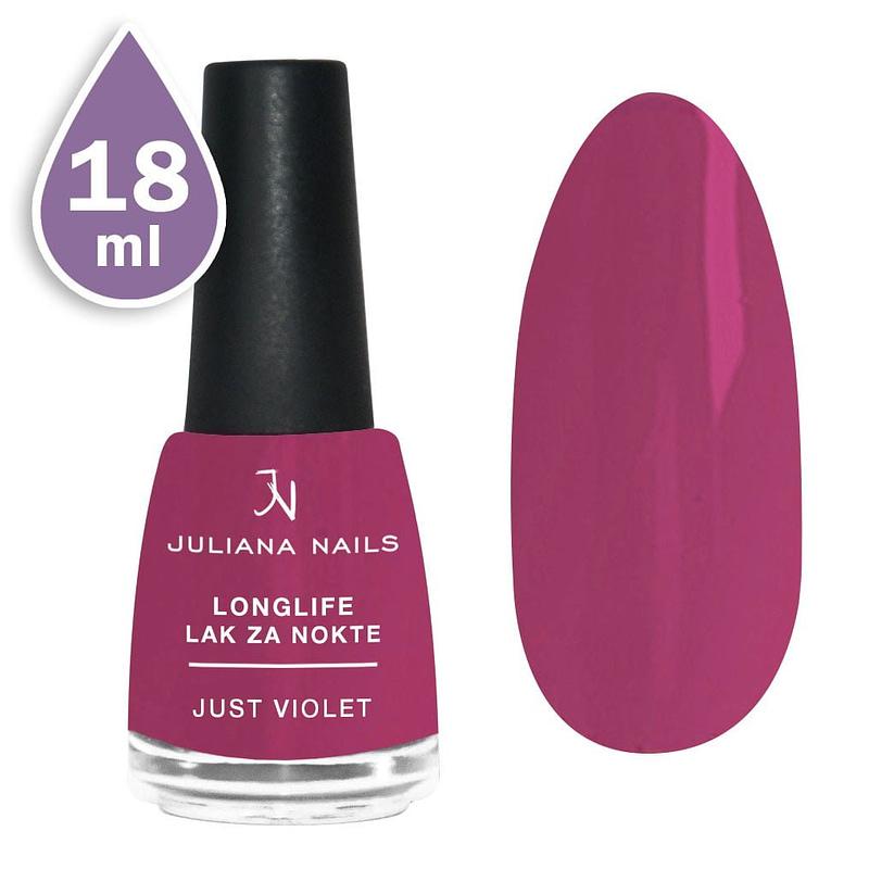 Longlife lak za nokte 18ml - just violet